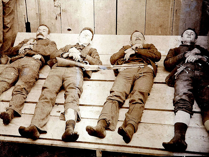 The Dalton gang, 1892